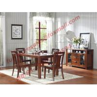 Best High Quality Solid Wooden Furniture Dining Table with Chair wholesale