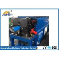 Best Full Automatic Metal Half Round Gutter Machine Durable Servo Guiding Device wholesale