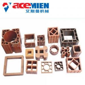 China 60~500kgs/H Profile WPC Production Line , WPC Extrusion Machine Custom Color on sale