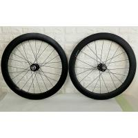 Best 60mm Clincher Carbon Track Wheelset Fixex Gear Hub Type Environmental Friendly wholesale