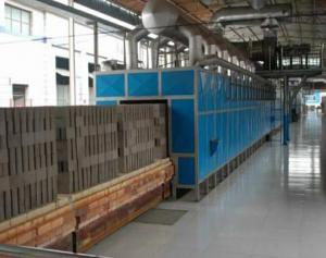 China Medium Temperature Sintered Tunnel Kiln For Clay Brick on sale