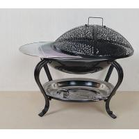 China Indoor and outdoor wrought iron brazier charcoal grills Brazier racks Charcoal stoves on sale