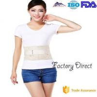 Best Double Pull Breathable Waist Back Support Belt , Back Braces For Lower Back Pain wholesale