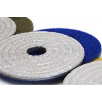 China Fast Change Diamond Polishing Pads , 4 Dry Concrete Polishing Pads Extremely Long Life on sale