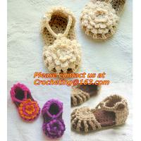Best Baby Boy Girl Infant Knit Shoes Handmade Crochet Booties wholesale