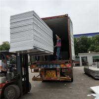 Best light weight eps sandwich panel 950-50-0.376mm cover with film both side delivered by a 40HQ wholesale