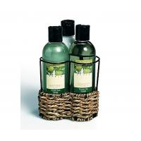 Best Luxurious delightfully scented bubble bath gift set with wire caddy wholesale