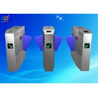China Card Reader Flap Barrier Gate Automatic Turnstiles Retractable Turnstyle Gates on sale