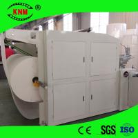 China Vertical type toilet roll rewinding machine from China Kingnow Machine for toilet roll paper making on sale
