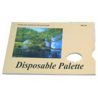Best Acrylic / Oil Painting Pad Disposable Palette Type , Artist Drawing Pad 48 sheets 58gsm wholesale