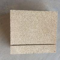 Cheap Yellow Color Fire Insulation Bricks , Insulating Refractory Brick Light Weight for sale
