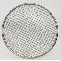 China 20 50 100 Rimmed stainless steel wire mesh filter disc, stainless steel wire mesh filter disc for plastic extrusion on sale