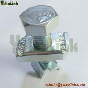 Best Zinc plating Seismic Hanging Rod Stiffener Clamp /  Seismic Rod Stiffener nut wholesale
