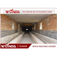 China Red Clay Brick Tunnel Kiln , Automation Tunnel Kiln For Brick Firing Process on sale