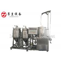 China CIP Home Beer Making Equipment , Easy Making Automated Home Brewing System on sale