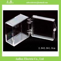 Best Display Gifts Jewelry 4x4 PC Clear Plastic Enclosure Box wholesale