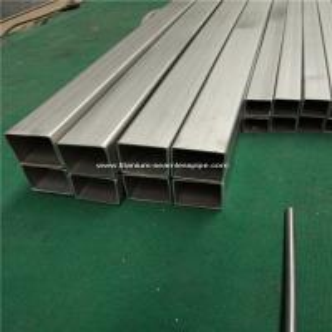 Titanium square tube Grade 2 titanium metal Trangle Corner SEAMLESS tube,30*30*1.5MM ,1000