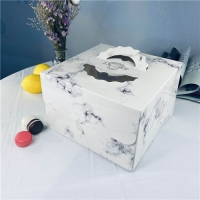 China 8/10/12 Inch Portable Cake Cardboard Boxes For Food Packaging on sale