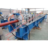 China Round Profile Downspout Machine Roll Forming Machinery With Mitsubishi PLC Controller on sale