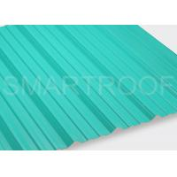 Best Bus Station PVC Corrugated Roofing Sheets With Anti Corrosion / Noise Weaken wholesale