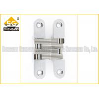 Cheap Furniture Hardware Zinc Alloy Soss Invisible Hinges , Wardrobe Door Hinges for sale
