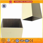 Best Rectangle Powder Coated Aluminium Extrusions / 6063 6063A Aluminum Window Frame Profile wholesale