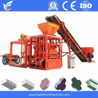 China Famous brand without hole solid brick molding machine cement sand brick machine on sale