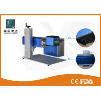 Best Leather Mini Laser Engraving Machine , High Speed Portable CO2 Laser Marker wholesale