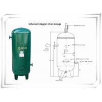 Best Screw Portable Rotary Compressed Air Receiver Tank Replacement Low Pressure wholesale