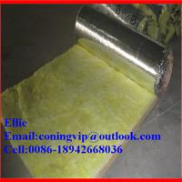 Best 16Kg/m3X38mm Fiber glass wool blanket for duct insulation wholesale
