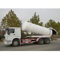 Sewage Suction Truck SINOTRUK HOWO for Sanitation Enterprise 20CBM LHD 336HP