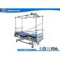 Best Easy Cleaning Four Crank Manual Hospital Bed / Manual Orthopedics Bed For Clinic , Family wholesale