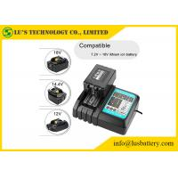 China DC18RC Power Tool Batteries Charger Fast Charging For Li-Ion 7.2V -18V Li Ion Cell on sale