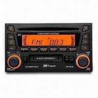 Best Car CD/MP3/Cassette/Radio Player with 4 x 40W Output Power and Automatic Antenna Control wholesale