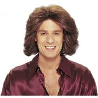 China Fashion PVC male wigs for head display on sale on sale