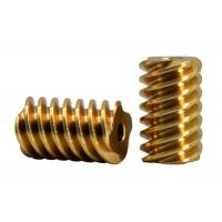 Best Customized Small Brass Pinion Gear  4 Lead  DP 48 C36000  For Gear Motor wholesale