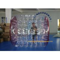 Best Kids Human Hamster Clear Inflatable Body Rolling Ball In Aqua Park 2.4 * 2.2 * 1.6m wholesale