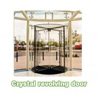 Best Shopping center mansion Automatic crane Revolving Door Unit with 3 or 4 wings wholesale