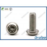 Best Stainless Steel Button Head Torx Tamper Proof Security Screws wholesale