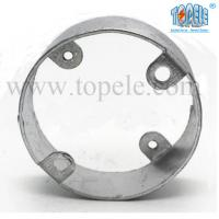 Best Electric Stainless Steel Conduit Fittings BS4568 Conduit Box Extension Rings wholesale