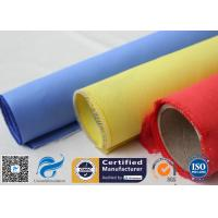 China Red Silicone Rubber Coated Fiberglass Engineer Acoustic Insulation Fabric Material on sale