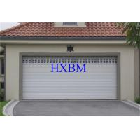 Best European Standard Aluminium Garage Doors Sound Proof And Insulated Polyester Material wholesale