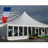 Buy cheap Aluminum Large Pagoda Tents With Glass Wall / Outdoor Event Tent from wholesalers