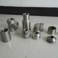 Best ISO Duplex Stainless Steel Pipe Fittings MSS SP79 83 95 97 Plywood Case Packing wholesale
