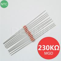 China MGD18 230K 1% 4130 4537 MF58 diode Glass NTC Thermal Variable resistor+thermistor of temperature sensor in solar water h on sale