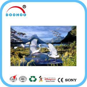 Best Eco friendly PET lenticular 3d posters with Flip effect 100LPI 75LPI wholesale