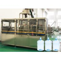 Best 13KW 5 Gallon Water Bottle Filling Machine With Barrel Rinser For Pure Water wholesale