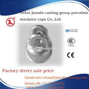 China ANSI 54-2 strain type porcelain insulator cap on sale