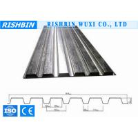 Buy cheap Q235 / Q345 Galvanized Corrugated Metal Decking Sheet 0.6 - 1.2mm zincalume for Roofing product