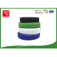 Buy cheap Two sided velcro sew on hook and loop tape various color 25m / roll product